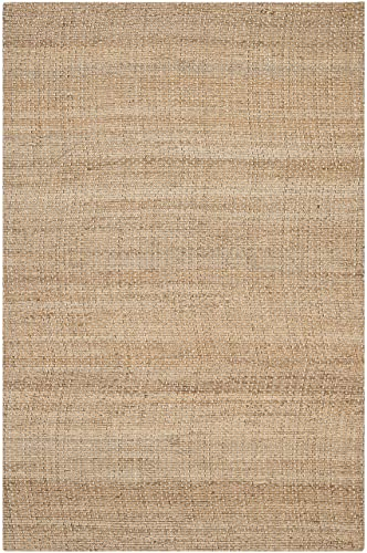 Safavieh Natural Fiber Collection NF452A Natural Sisal Area Rug 5 x 8