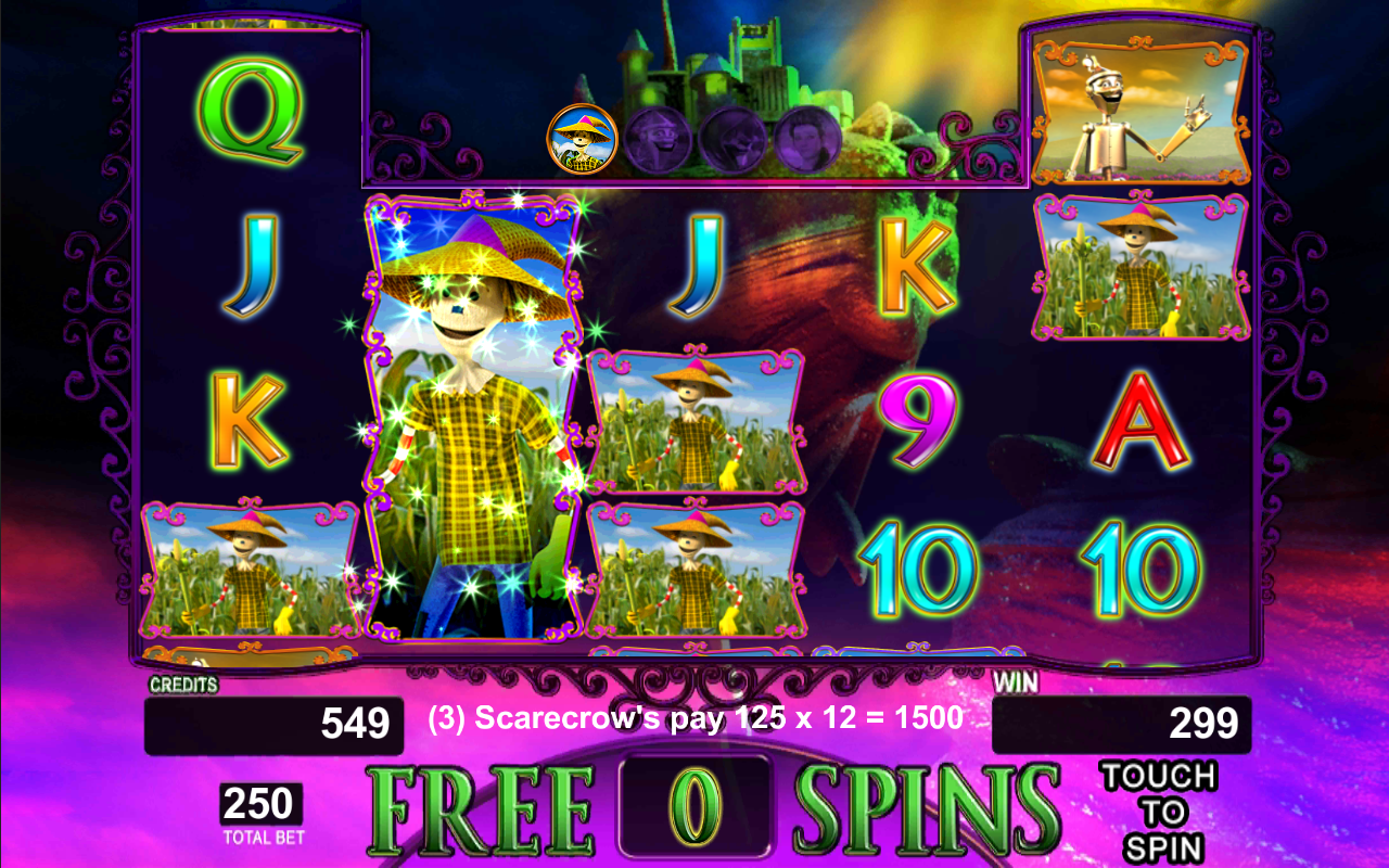 Wizard Of Oz Slot Machine Free No Download