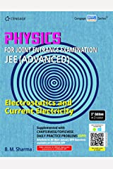 Physics for Joint Entrance Examination JEE (Advanced): Electrostatics and Current Electricity Paperback