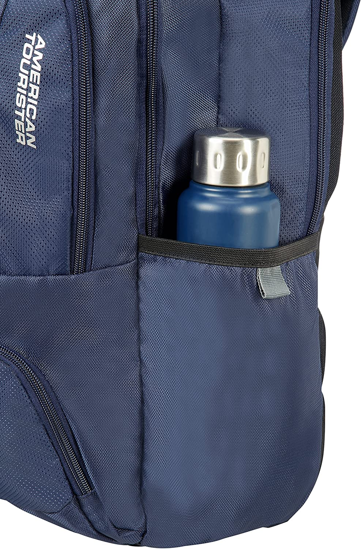 15.6 pouces Sac /à Dos pour Ordinateur Portable American Tourister Urban Groove Bleu Blue 27 L 50 cm