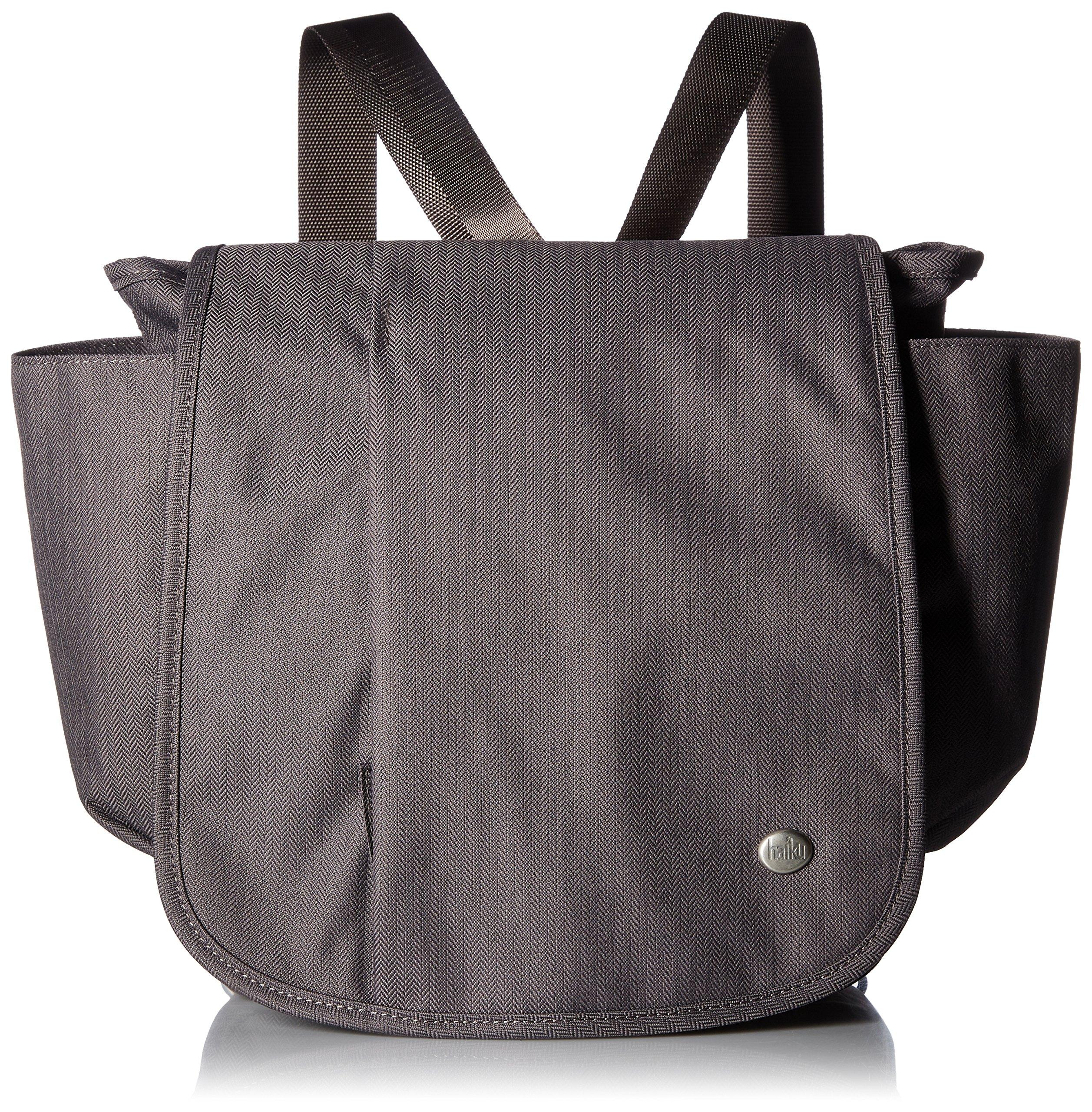 Haiku to Go Convertible Messenger Bag, Shale