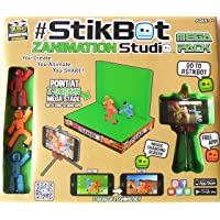 Toy Shed StikBot Zanimation Studio 2 in 1 Z-Screen Mega Stage (Magic changing screen) Mega Pack by Stikbot