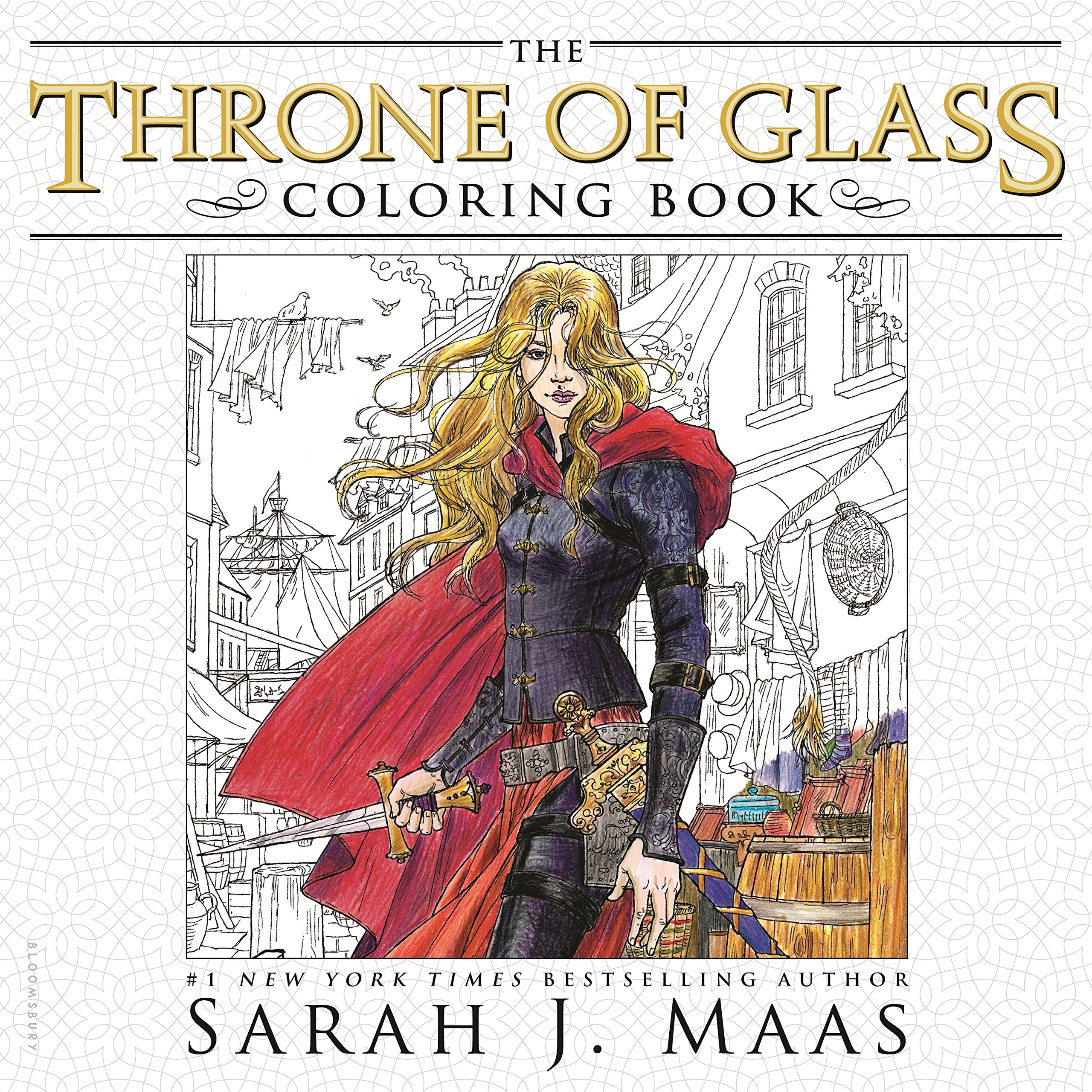Amazon.com: The Throne of Glass Coloring Book (9781681193519): Sarah ...