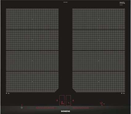 Siemens EX675LXE3E hobs Negro, Acero inoxidable Integrado ...
