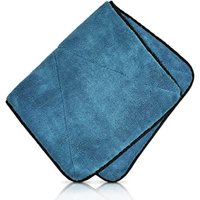 Detailer's Preference Mega Microfiber Towel Super Absorbent 780 GSM 32in X 18in: Automotive