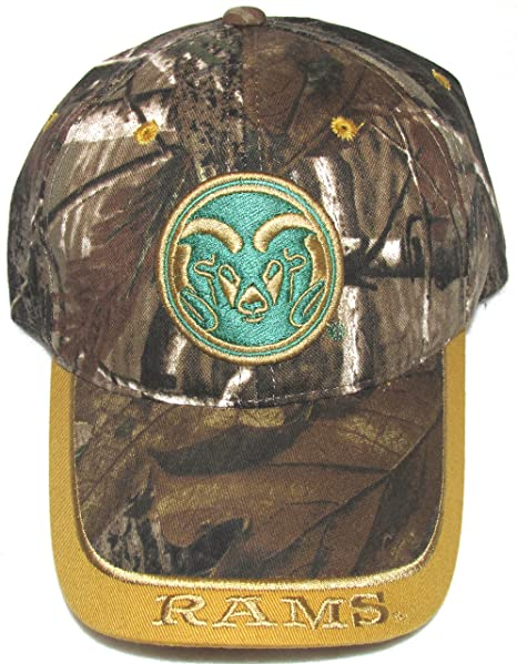 d1efe79af35 Image Unavailable. Image not available for. Color  Colorado State  University Rams Real Tree Camo Cap Hat