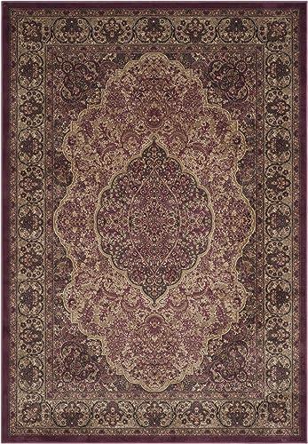 Safavieh Paradise Collection PAR369-5888 Rose Viscose Area Rug 8 x 11 2