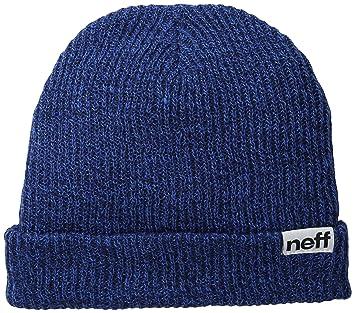 Neff Fold Heather Beanie Hat Navy Blue 0edf8f9c5a4