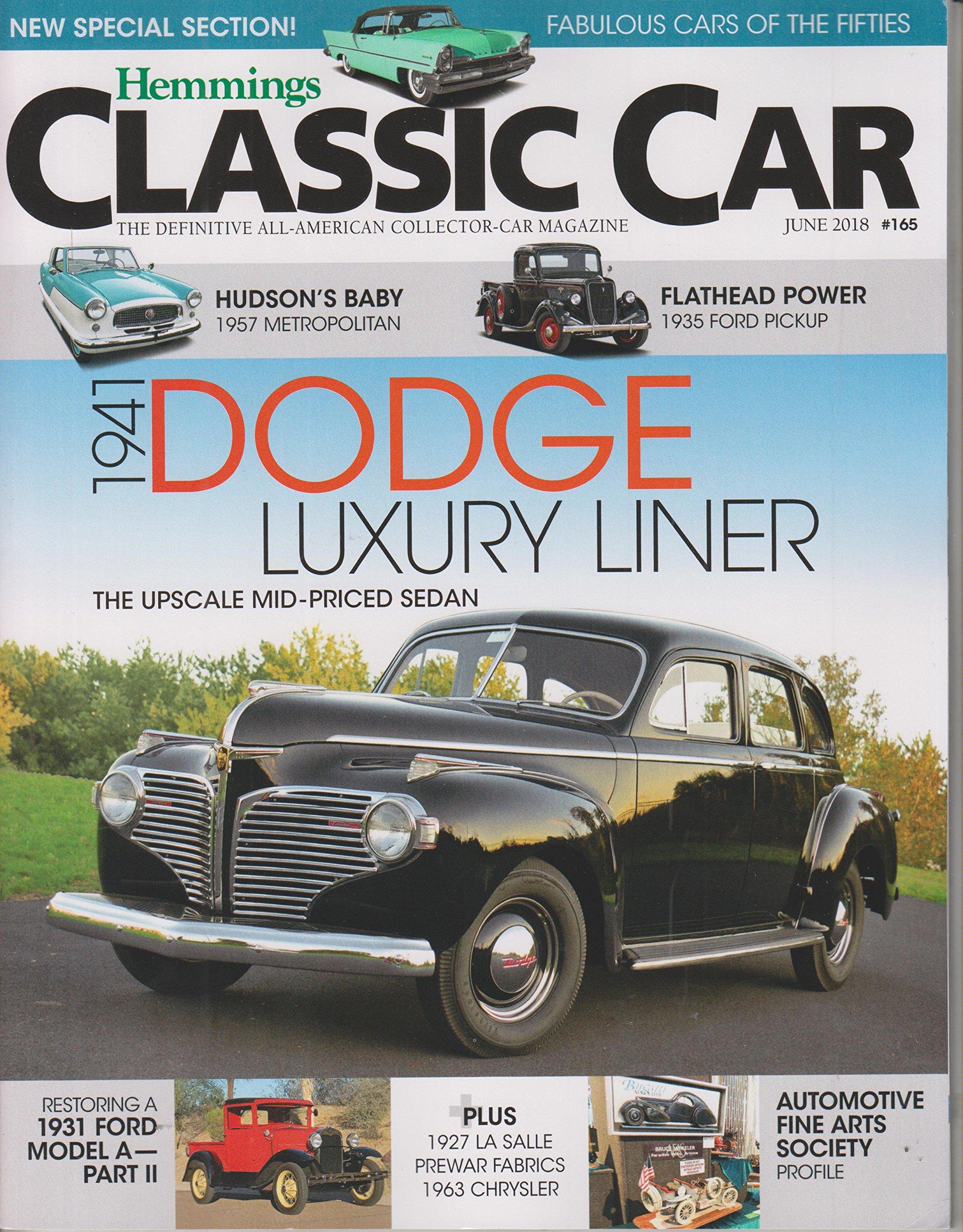 Read Online Hemmings Classic Car June 2018 1941 Dodge Luxury Liner pdf epub