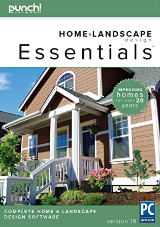 Punch! Home U0026 Landscape Design Essentials V19 For Windows PC [Download]