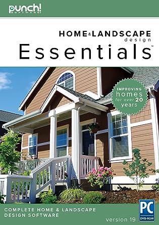 Amazon.com: Punch! Home & Landscape Design Essentials v19 for ...
