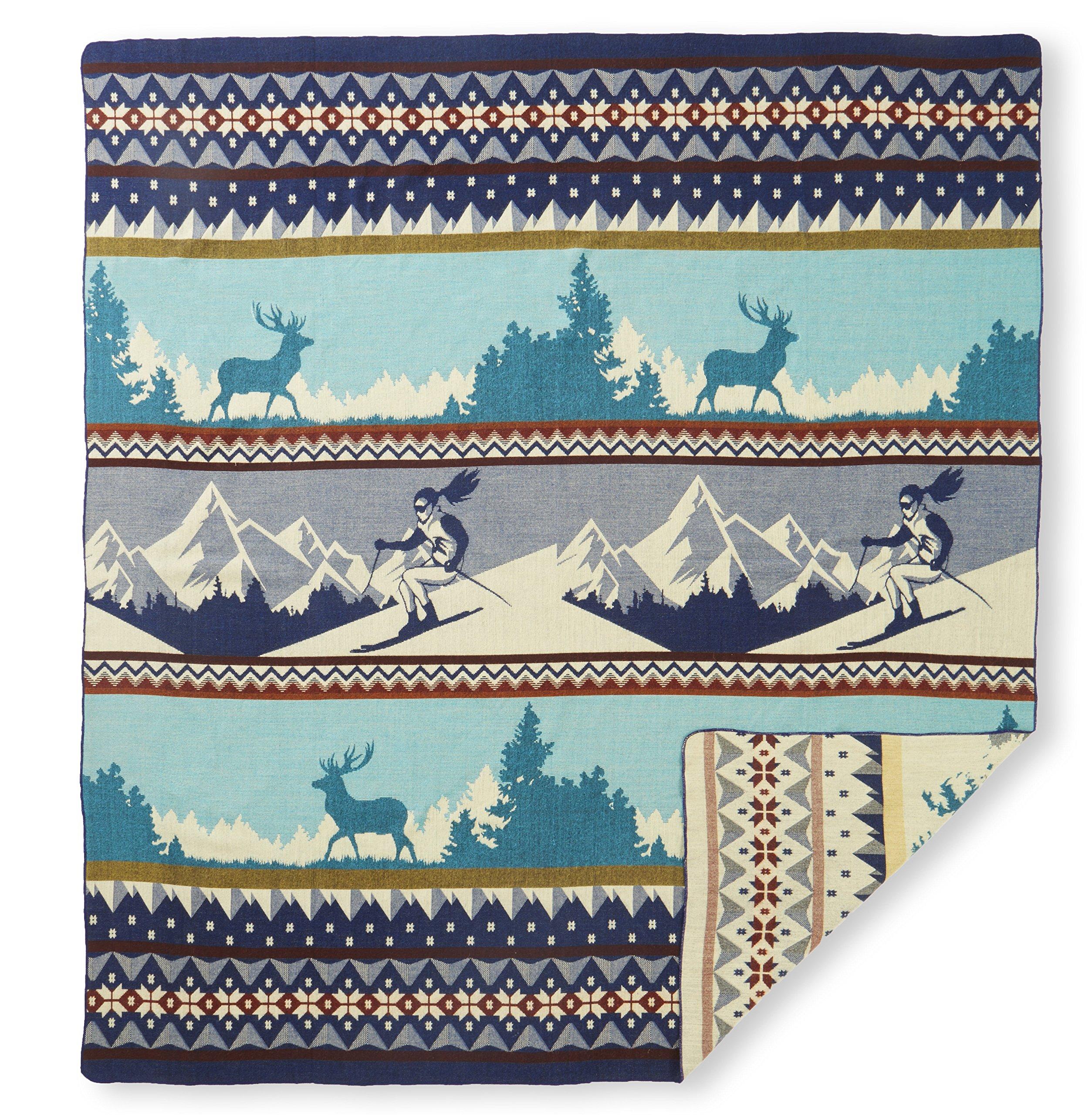 Ecuadane Colorado Ski Large Woven blanket