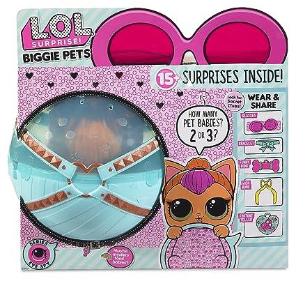 Amazon Com L O L Surprise Biggie Pet Neon Kitty Toys Games