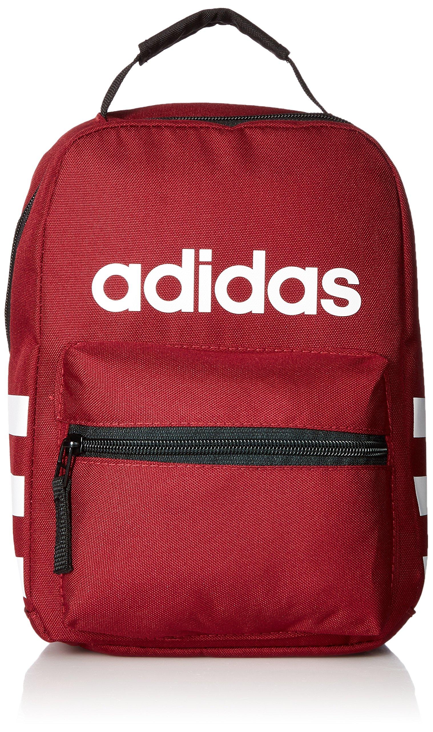 adidas Santiago Lunch Bag, Dark Red, One Size
