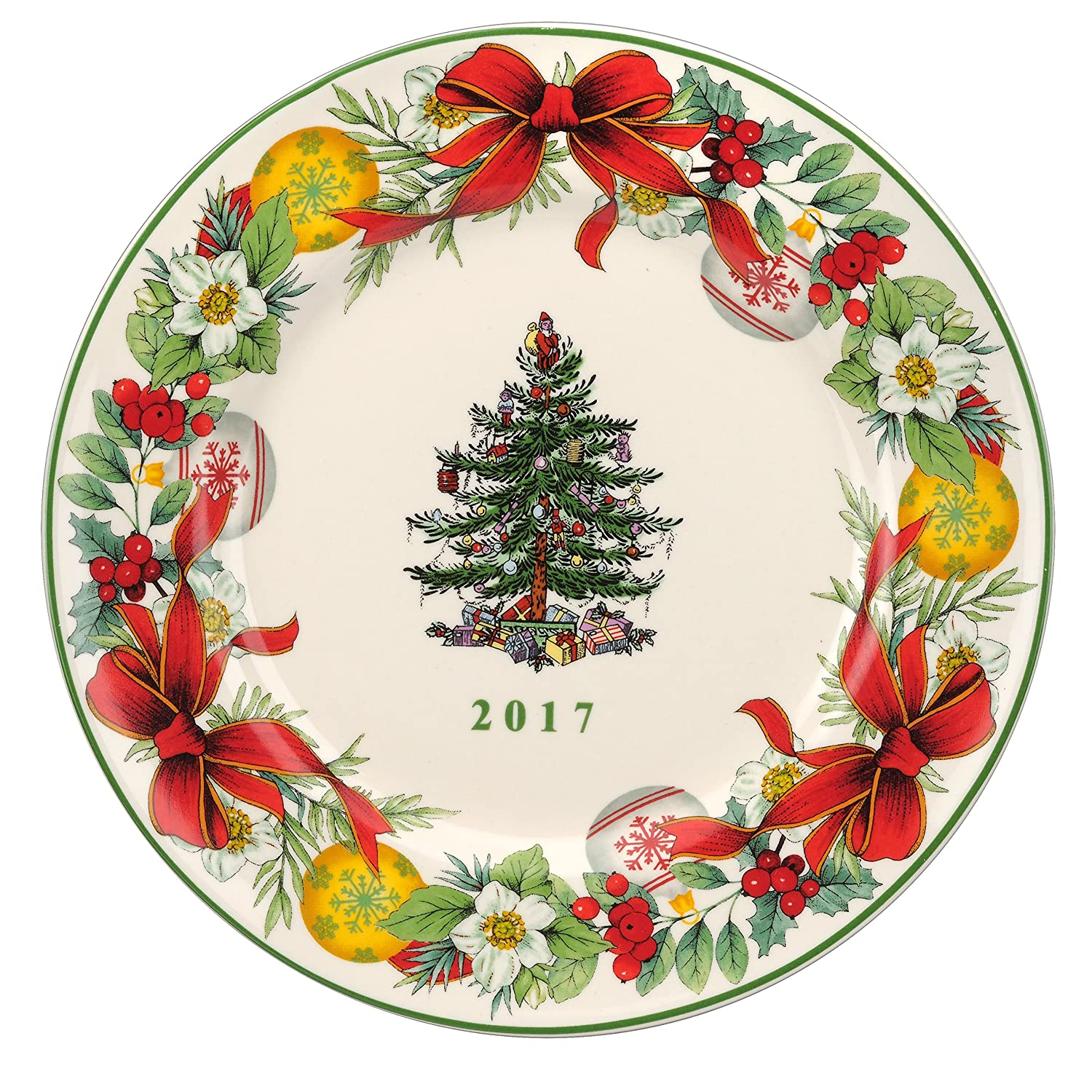 Spode Annual Christmas Tree Collector Plates