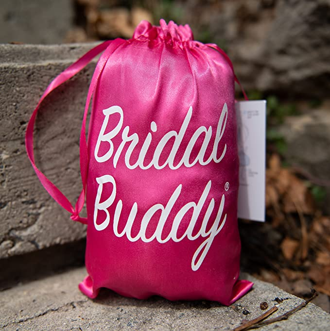 9b15d90432f Bridal Buddy-The Original- easily holds your gown so you can use the  bathroom alone- As Seen on Shark Tank at Amazon Women s Clothing store