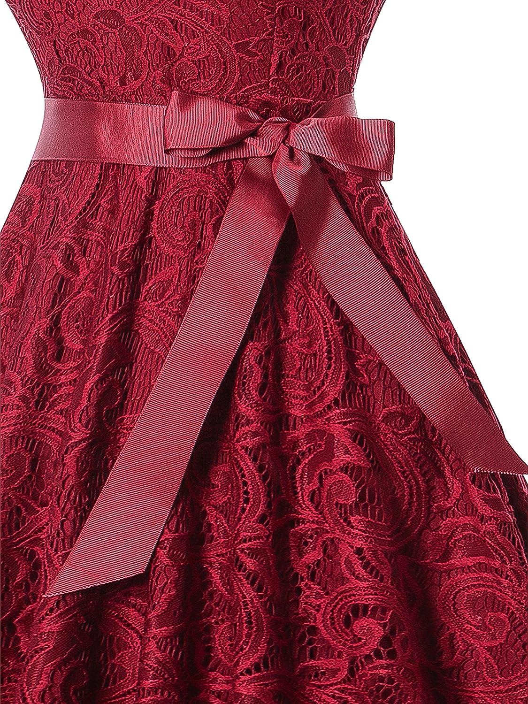 Oyza9pe Womens Vintage 1940s Swing Skaters Shirtwaist Flared Tea Dress