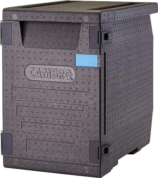 CAMBRO Caja Térmica Para Alimentos Entrega A Domicilio EPP400110 (Para 4 contenedores GN 1/1 de 10 cm de profundidad, Carga frontal): Amazon.es: Hogar