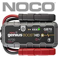 NOCO GB 70 - Cargador (Polaridad inversa, Negro, Rojo, Carga, Jump Starter, 12 V, 5 V)