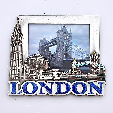 I Love London Photo Frame - Metal Photo Frame - London Souvenir ...