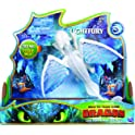 Dreamworks Dragons Lightfury Deluxe Dragon with Lights & Sounds
