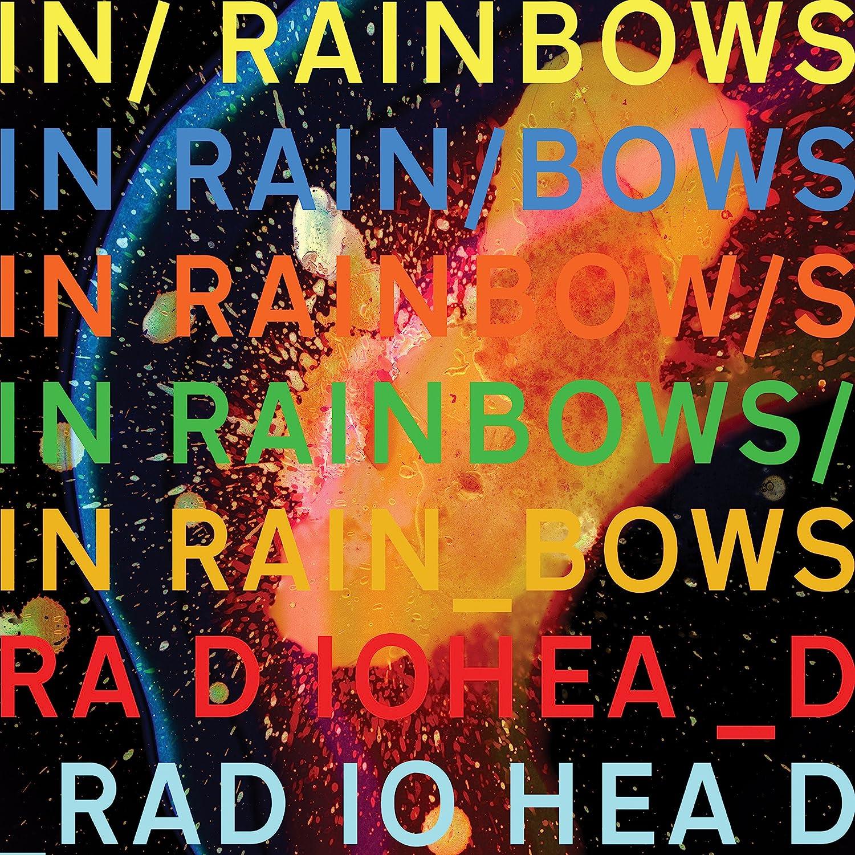 Картинки по запросу radiohead in rainbows vinyl