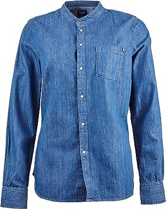 Pepe Jeans Ella Camisa Azul Mujer L: Amazon.es: Ropa y accesorios