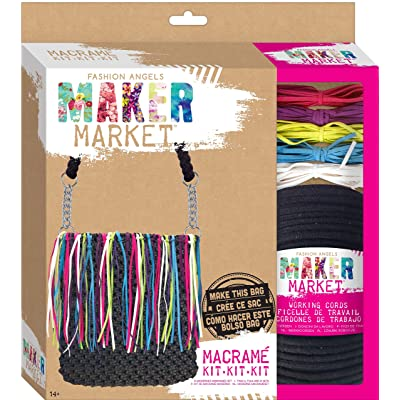 Fashion Angels Enterprises Maker Market Macrame Kit: Toys & Games