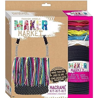 Fashion Angels Enterprises Maker Market Macrame Kit: Toys & Games