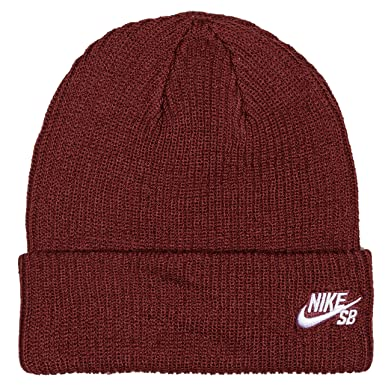 50f25af79c5 Image Unavailable. Image not available for. Colour  Nike SB Fisherman   Beanie. Dark Team Red White.