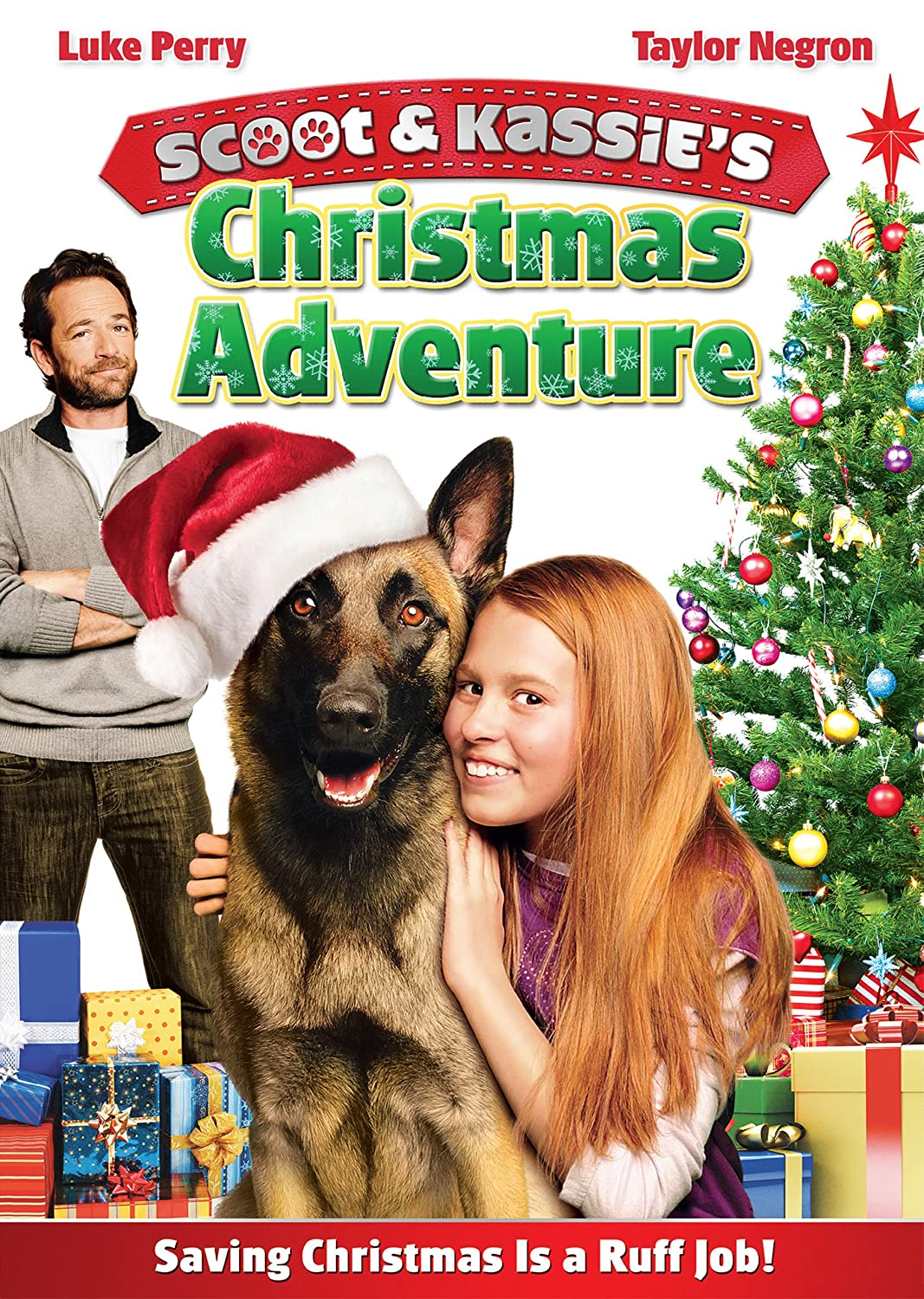 Amazon.com: Scoot and Kassie's Christmas Adventure: Luke Perry ...