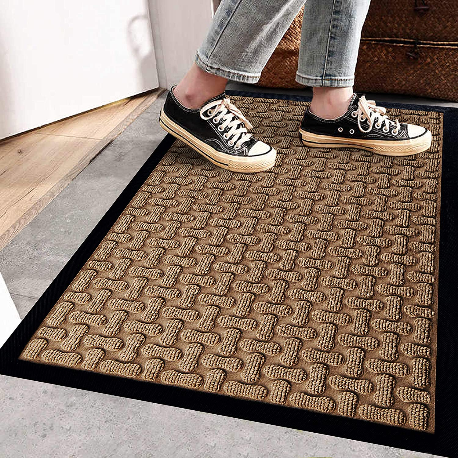 Extra Durable Door Mat 30x18 Christmas Doormat Front Door Mat Outdoor Back Door Mat Indoor Door Mat Outdoor Doormat Door Mat For Outside Cute Doormat Front Door Mat Door Mat Indoor Amazon Co Uk Kitchen Home