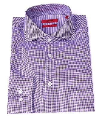 official photos performance sportswear presenting Amazon.com: Hugo Boss Mens Purple Boxed Slim Fit Dress Shirt ...