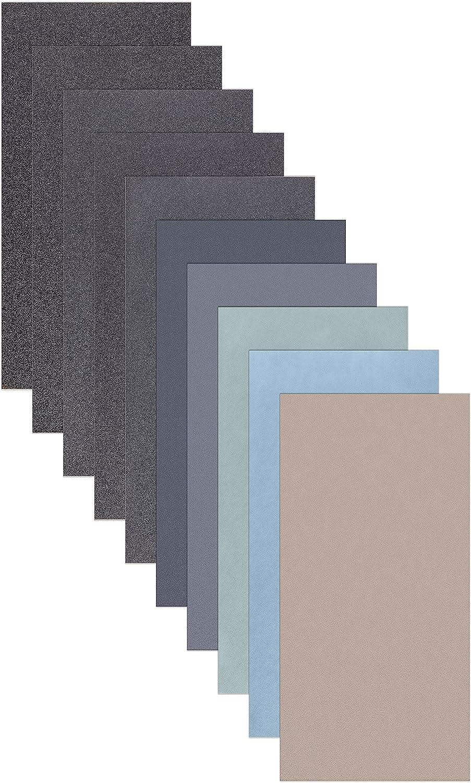 10/feuilles de papier papier abrasif Assortiment 210/x 110/mm P5000/P3000/P2000/P1000/P800/Sable sec et humide