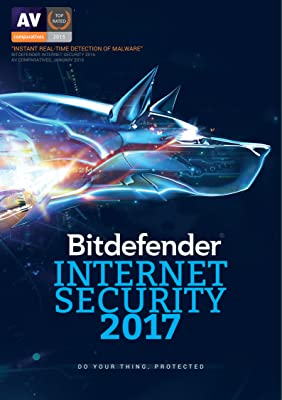 Bitdefender Internet Security 2017 | 1 PC, 1 Year | Download