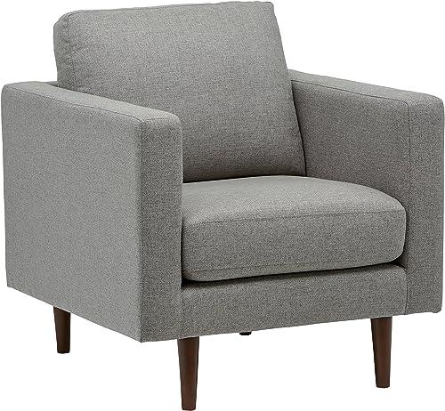 Best living room sofa: Amazon Brand Rivet Revolve Modern Upholstered Armchair