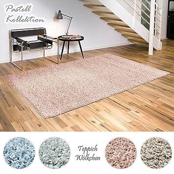 Lieblich Shaggy Teppich Pastell Kollektion | Flauschige Hochflor Teppiche Fürs  Wohnzimmer, Esszimmer, Schlafzimmer Oder