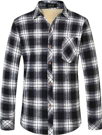 Vintage Women/'s XL 2XL Fleece Lined Check Flannel Shirt Lumberjack Zip Up Oversized