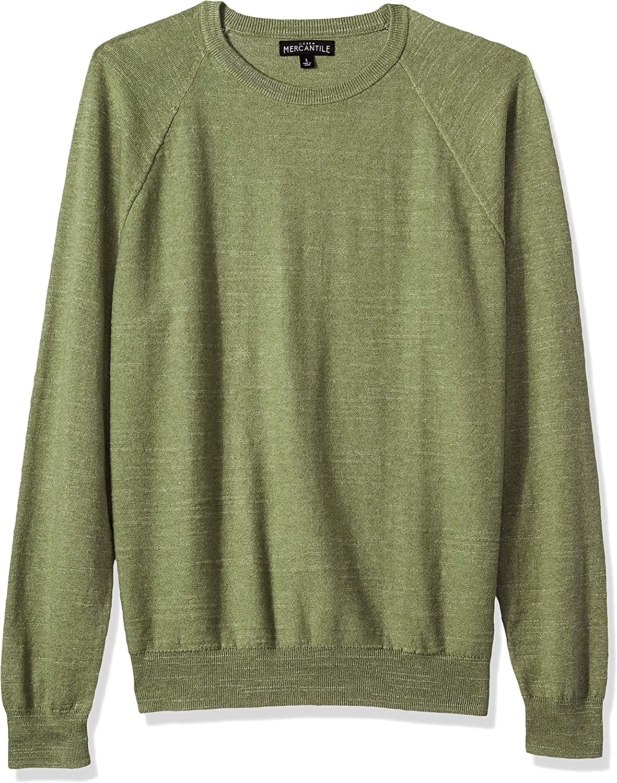 J.Crew Mercantile Max 69% OFF Men's Textured Cotton Gifts Sweater Crewneck