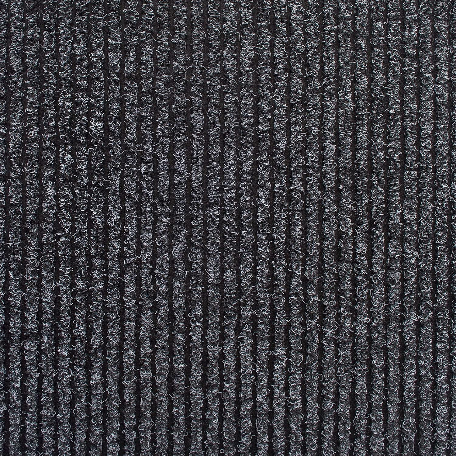 WEST DERBY CARPETS ONLINE LTD - eXtreme CHARCOAL ENTRANCE MATTING - DOORWAY MATTING - RIBBED HEAVY DUTY ENTRANCE MATTING - BARRIER MAT - 5m length x 1m Width eXtreme®