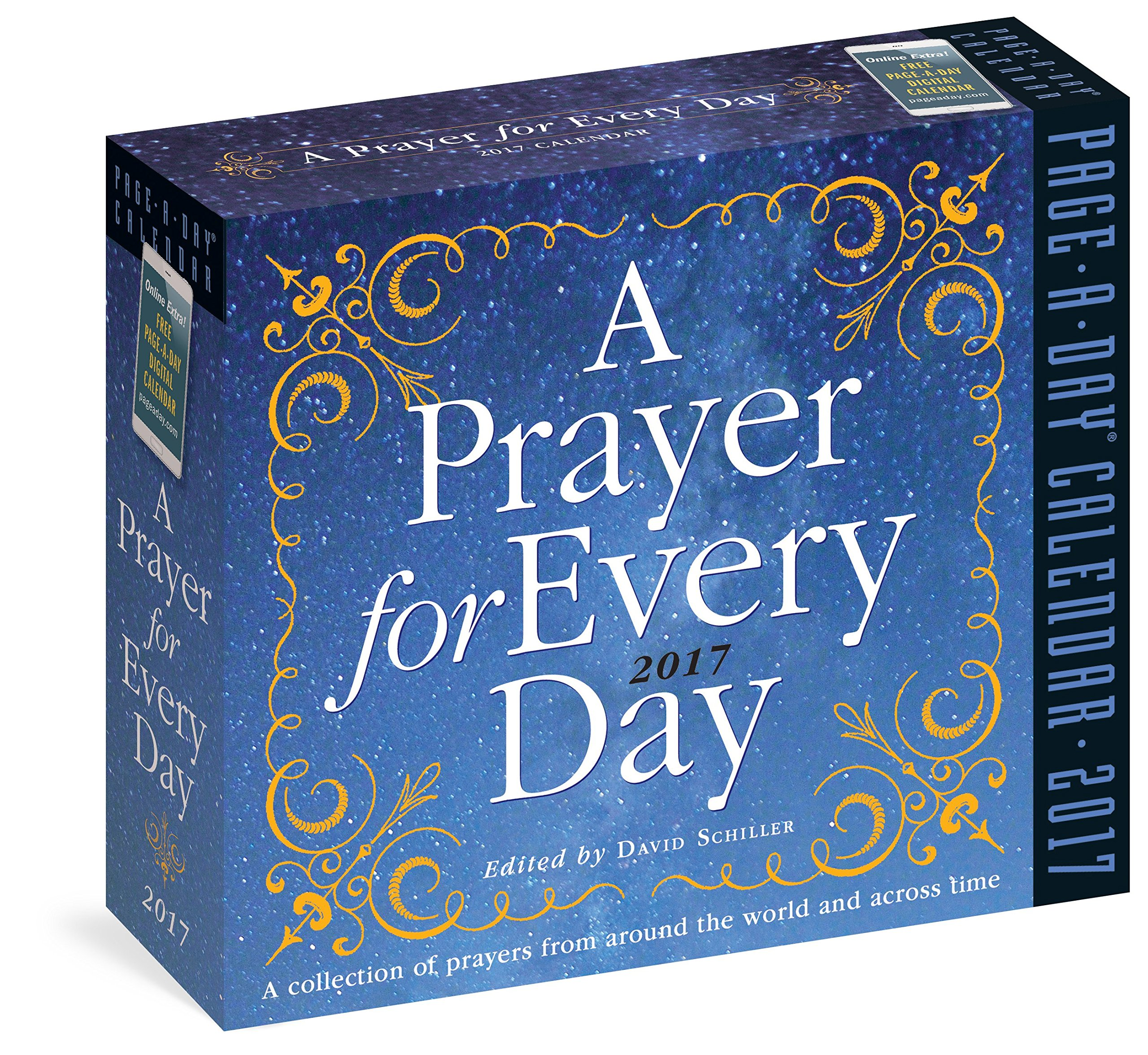 A Prayer for Every Day Page-A-Day Calendar 2017: David Schiller ...