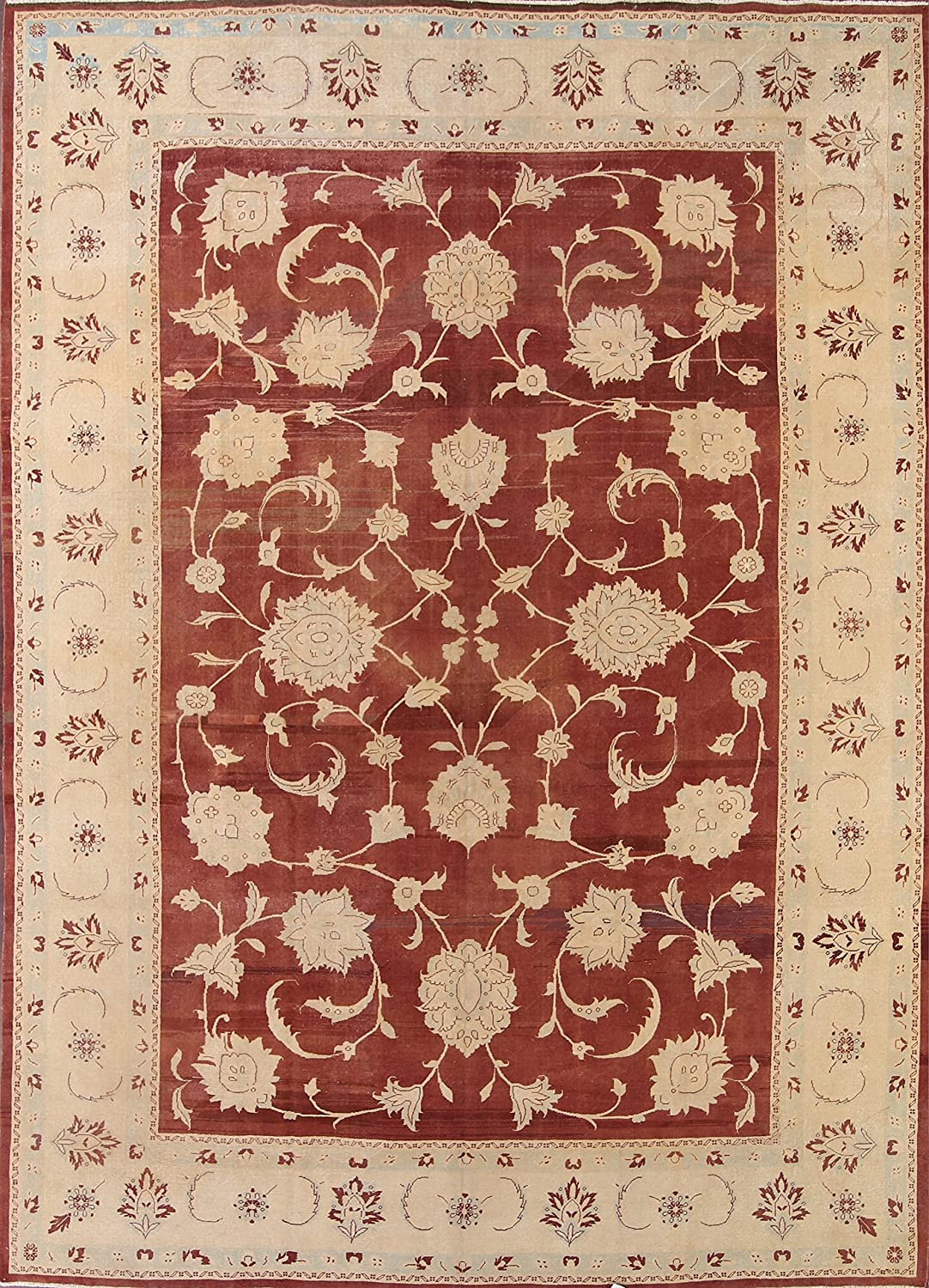 Amazon Com Rug Source Oushak Agra Pakistan Hand Knotted Wool