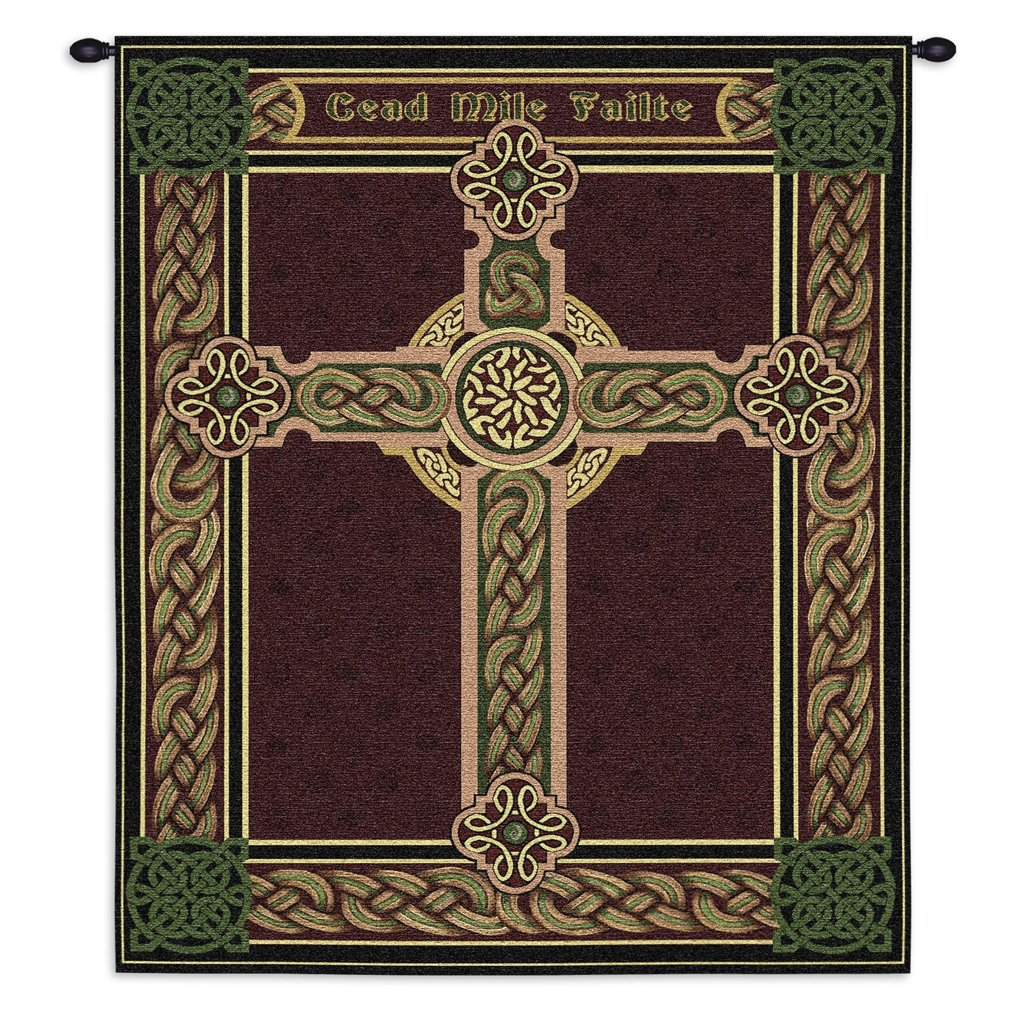 Pure Country Celtic Words Wall Tapestry