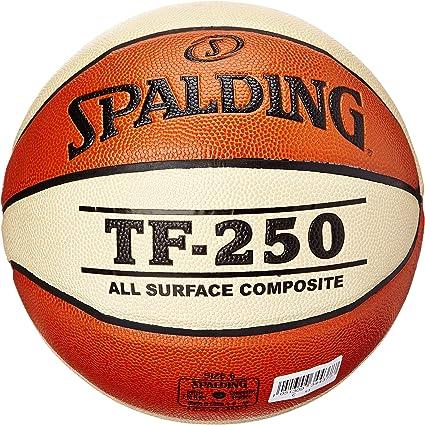 73-851Z Naranja bal/ón de Baloncesto 6 Unisex Spalding TF50 Outdoor SZ.6