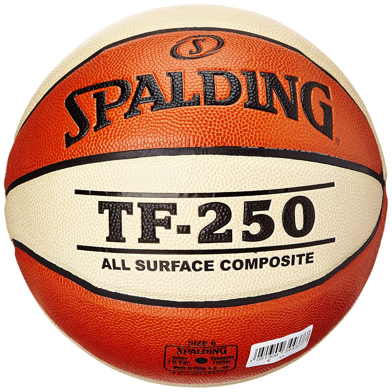 Spalding Tf250 Basketball Ball 6 orange//Wei/ß