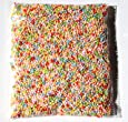 Small Smooth Foam Balls 0.1-0.15 Inches (Assorted Mixed Color)