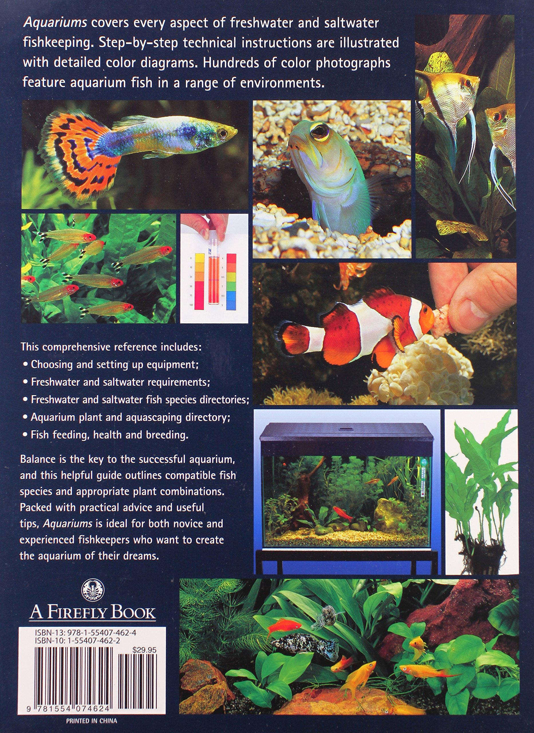 Fish aquarium guide - Aquariums The Complete Guide To Freshwater And Saltwater Aquariums Thierry Maitre Alain Christian Piednoir 9781554074624 Amazon Com Books