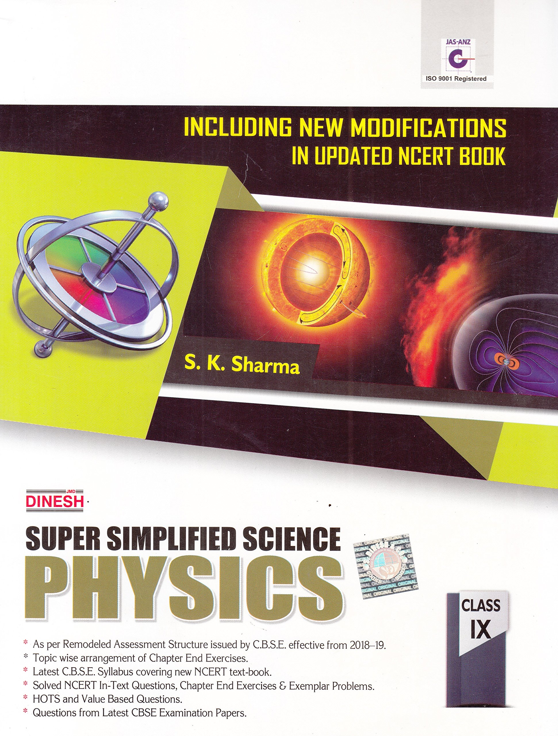 Dinesh Super Simplified Science Physics - Class 9 2018-2019