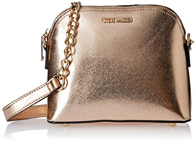 ffdca06256 Image Unavailable. Image not available for. Colour: Steve Madden Women's  Sling Bag (Rose Gold ...