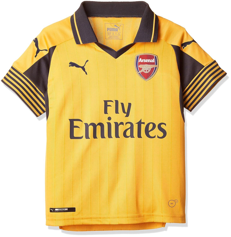 PUMA Chico del Arsenal Away 16-17 réplica Camiseta de fútbol Amarillo Spec Yellow Talla:11-12 años: Amazon.es: Ropa y accesorios